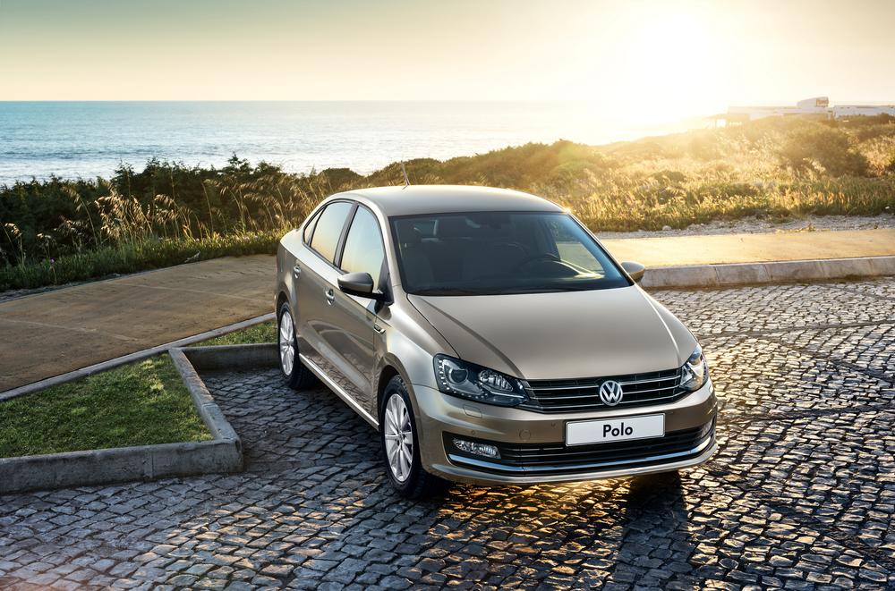 Volkswagen Polo беж