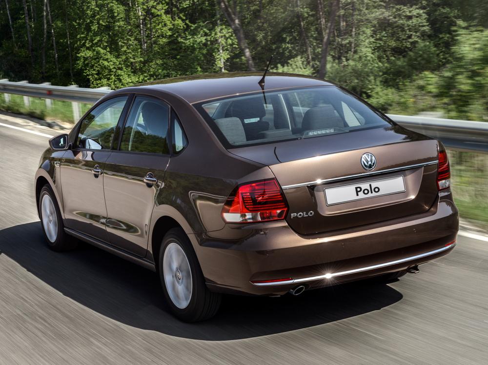 Volkswagen Polo коричневый