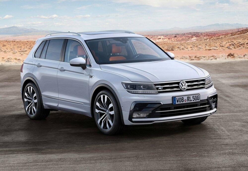 Volkswagen Tiguan белый