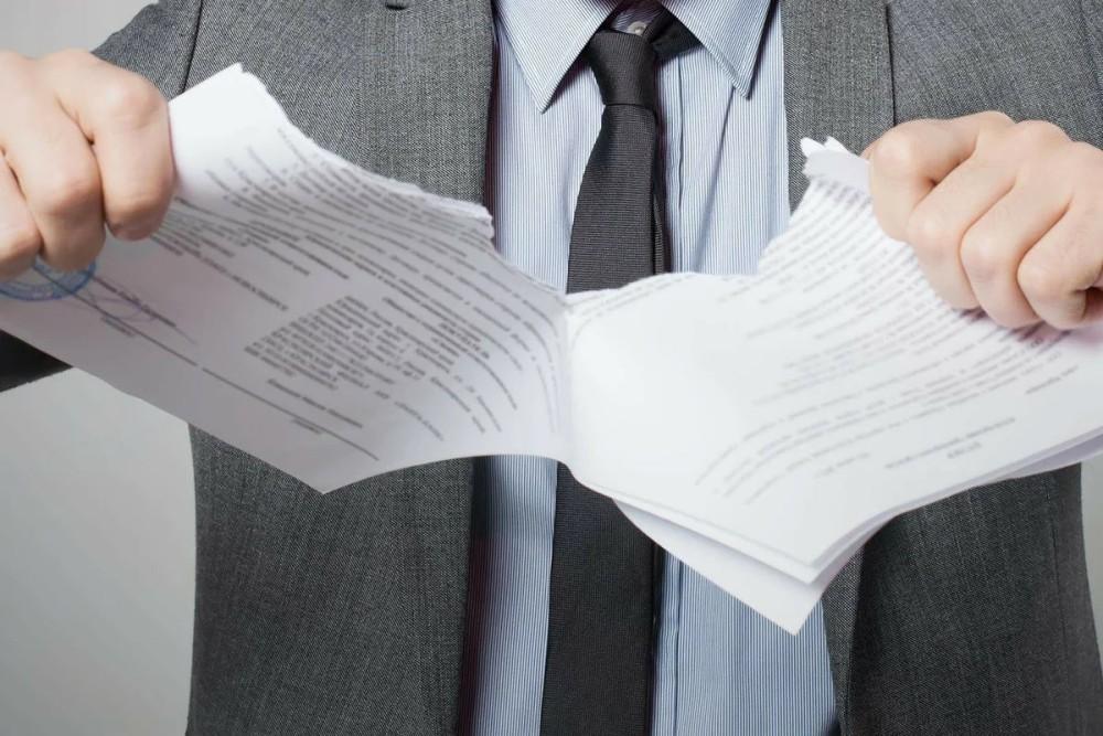 Аннулирование договора продажи машины