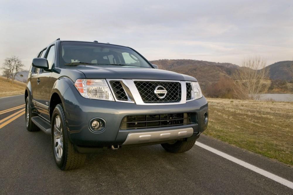 Nissan Pathfinder прошлого поколения
