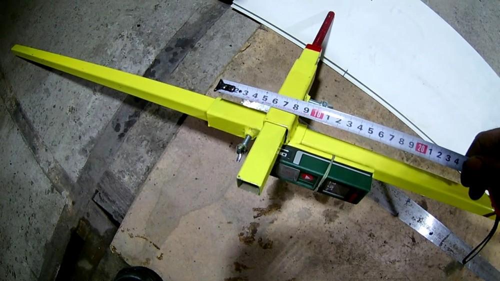 Оборудование для измерения геометрии кузова машины