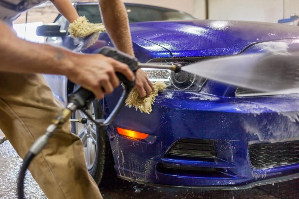 Мойка автомобиля для ведения бизнеса