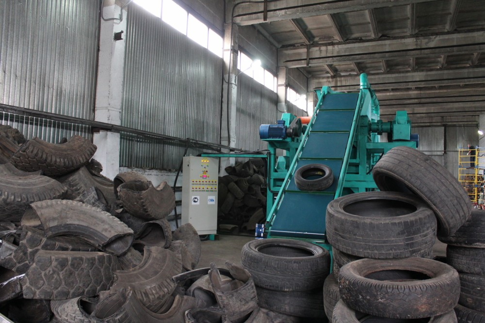 Переработка автомобильных шин