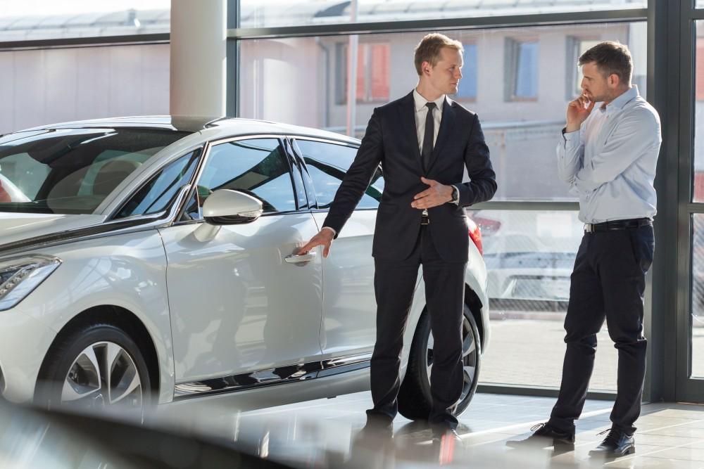 Приобретение автомобиля у юридического лица