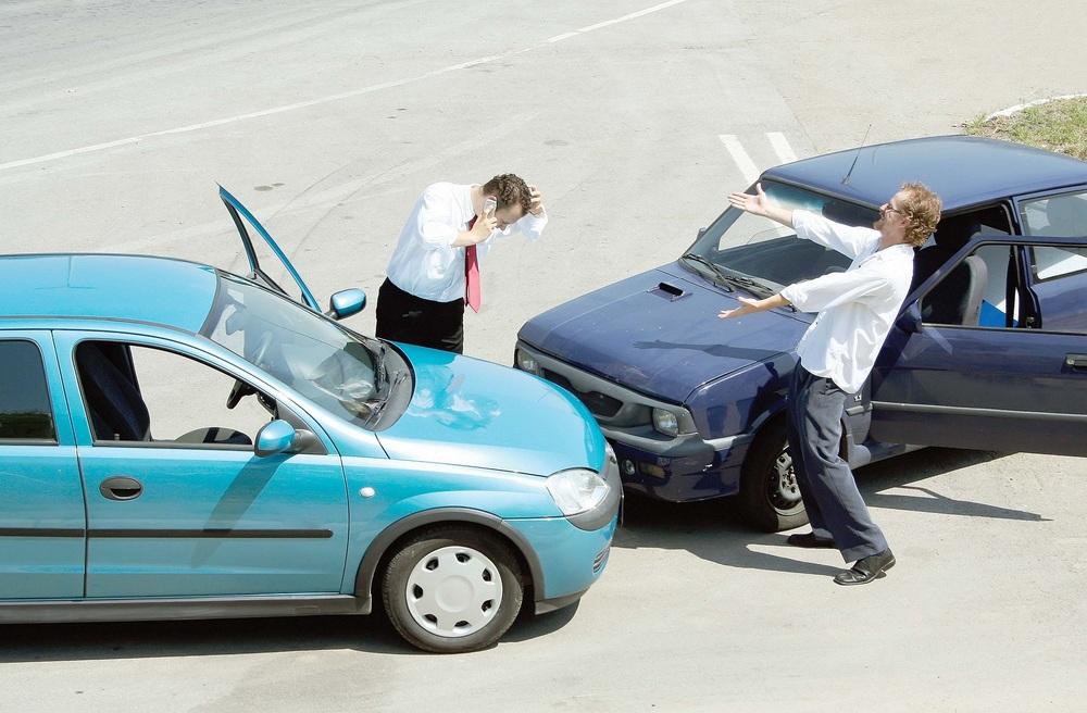 Попадание в аварию
