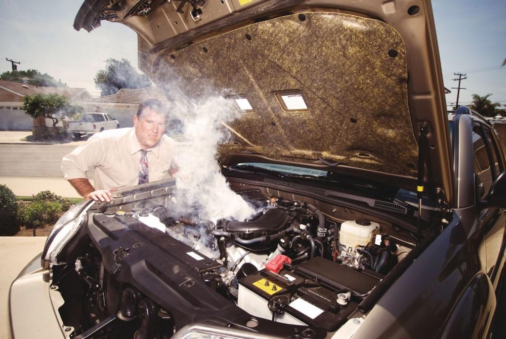 Проблемы с двигателем после ДТП