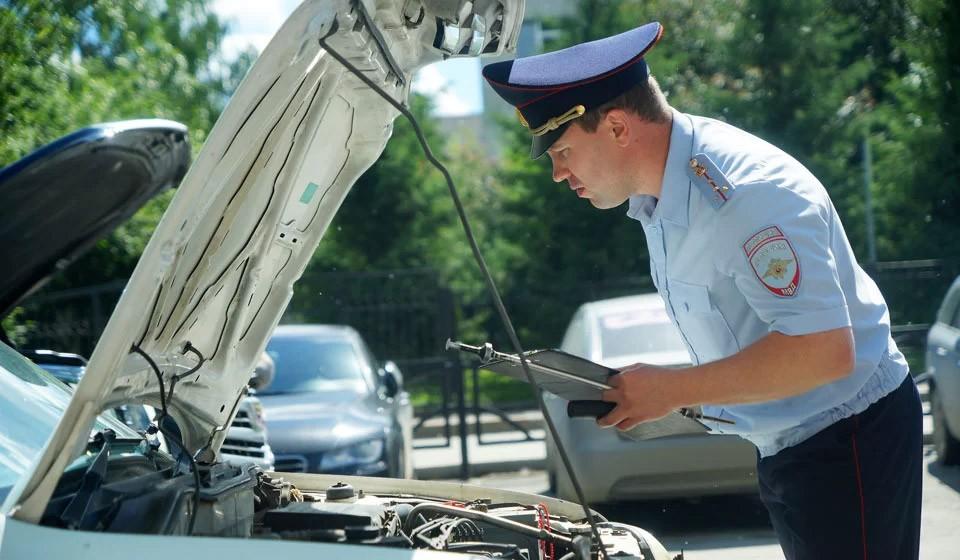 Проверка машины на арест