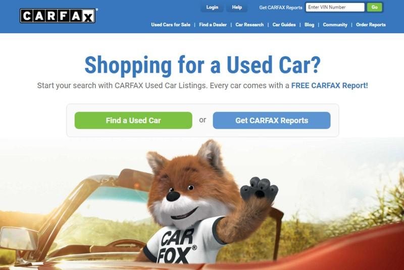 Сайт проверки машины Carfax
