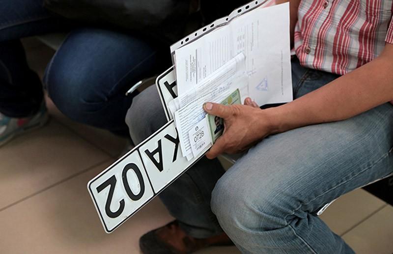 Замена государственных номеров на машину