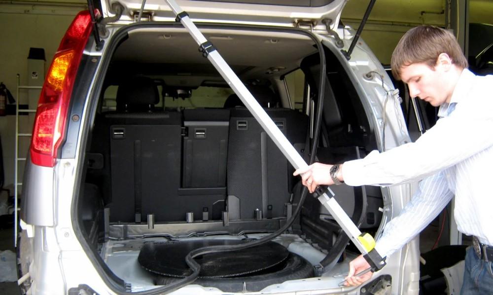 Измерение геометрии кузова авто