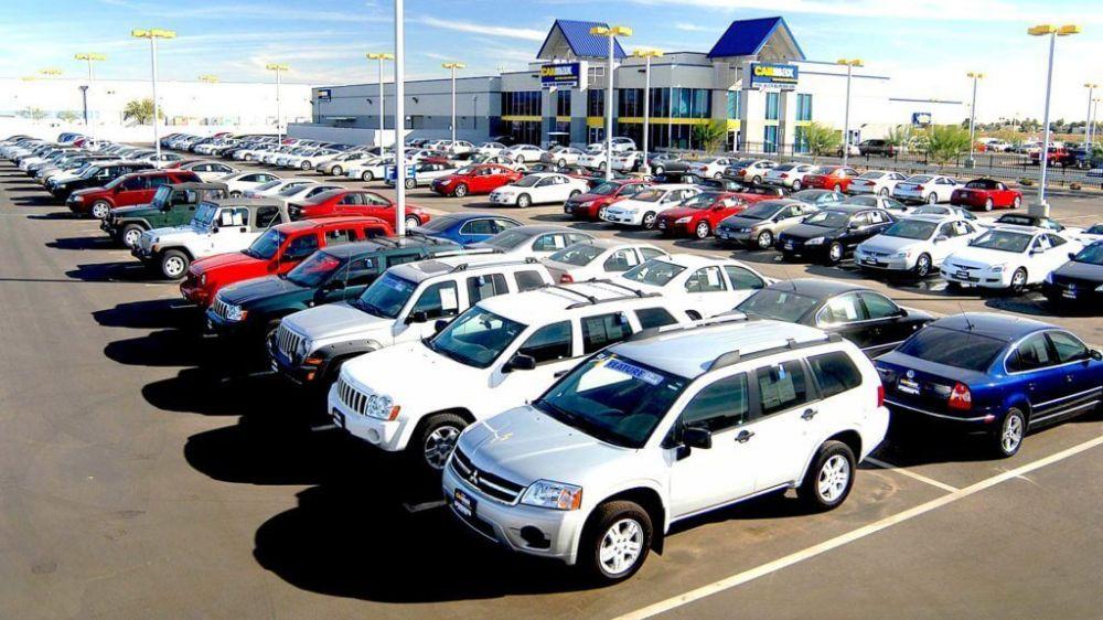 Машины на автомобильном рынке