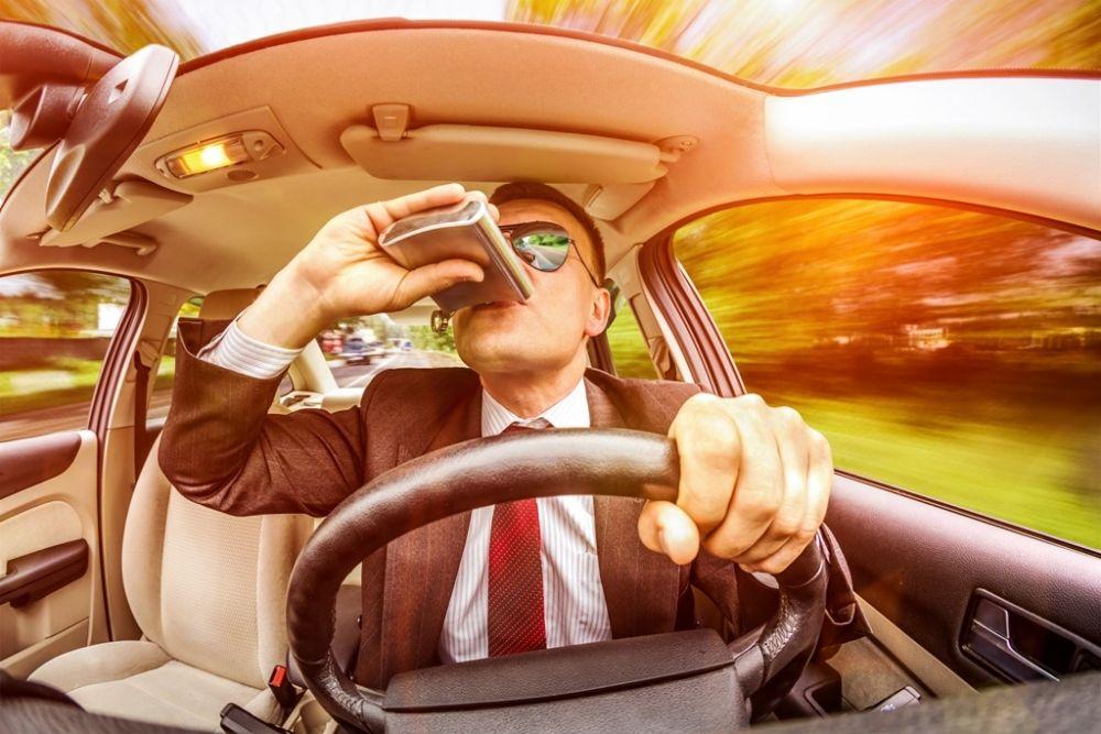 Нетрезвый водитель за рулем