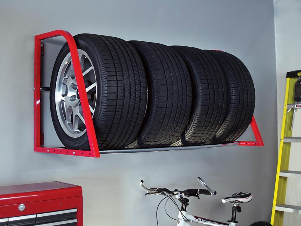 Полка для хранения шин