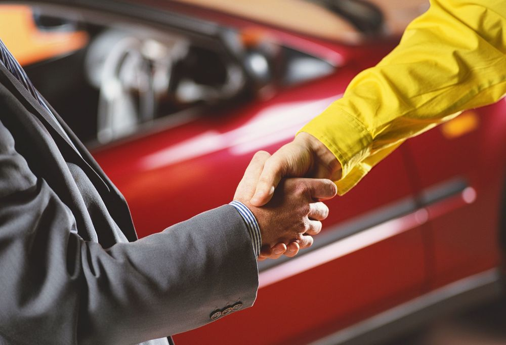 Заключение сделки о продаже авто
