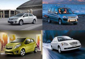 Автомобили до 350 тысяч рублей